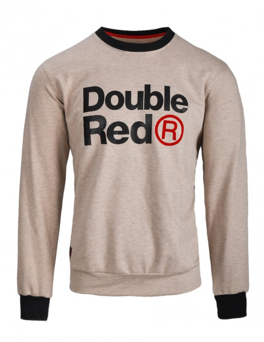 DOUBLE RED Trademark Sweatshirt Beige