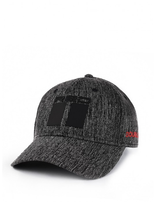 Shadows DOUBLE RED Melange Stretch Fit 3D Logo Cap