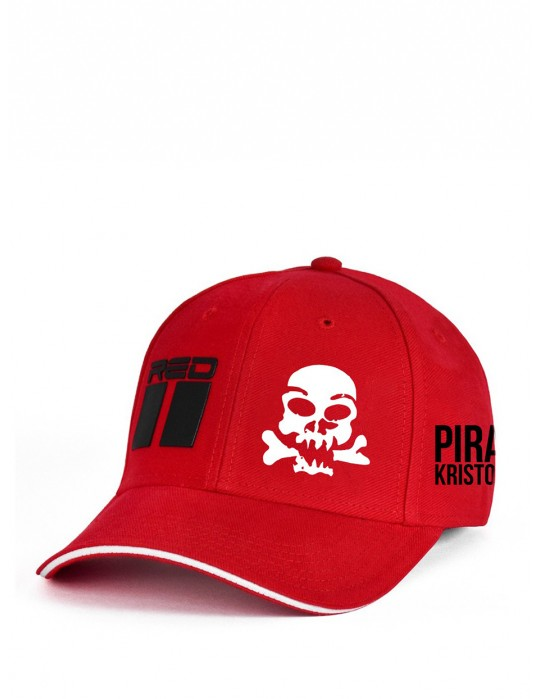 Limited Edition Pirát Krištofič Cap Red