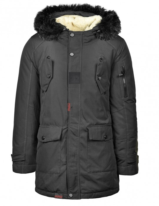 ALYESKA Parka Jacket Black